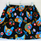 birds scandanavian black skirt size 1,2,3,4,5
