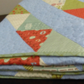 'Odds and Ends' Geometric Quilt