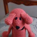 Dani Bear: Hand crocheted toy bear by CuddleCorner: safe, washable