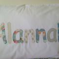 Pillowcase - Girls & Boys Personalised Pillowcase / Pillowslip