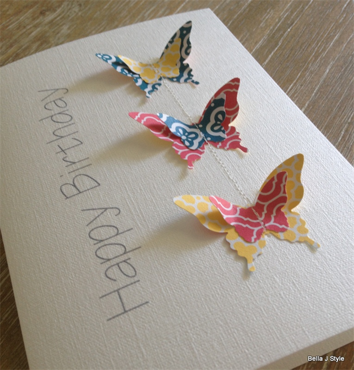 Happy Birthday Butterfly Flutter Card | jp paper + gifts on