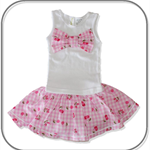 SIZE 00 Baby Skirt and singlet SET