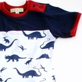 Dinosaur T shirt, retro boy. Sizes 000 ~ 3