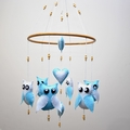 Made-to-order ~ 6 owl mobile