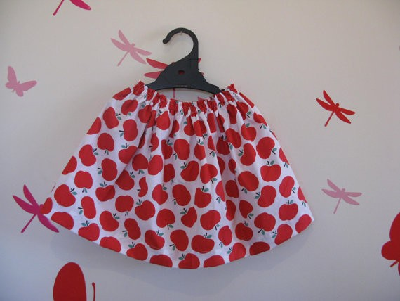 PDF Sewing Pattern(Beginners) - Girls Super Easy Skirt- Use Sewing ...