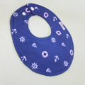 NAVY Super-Absorbent with Drool Proof backing Baby/Toddler Girl's Bib
