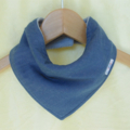 SOFT DENIM Look Super-Absorbent 3-Layered bandana bib with Waterproof backing