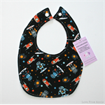 BUY 3 GET 4th FREE Black Outer Space Bib