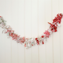 Fabric Garland (Bunting / Room Decoration / Christmas Decoration)