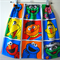 vintage sesame street big bird elmo grover girls skirt size 1,2,3,4,5