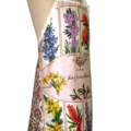 Australian WA Wildflowers Tea Towel Apron. Birthday Gift Idea