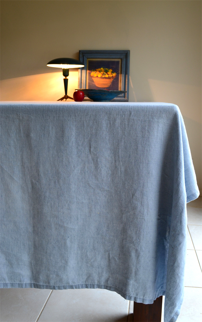 Stonewashed Natural Linen Tablecloth Quot Vintage Chic