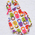 """Bella Babushka"" Buttercup Sunsuit Playsuit w Ruffles romper summer"