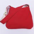 Reversible Apple Shoulder Bag