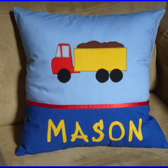 PERSONALISED CUSHION COVERS - Truck