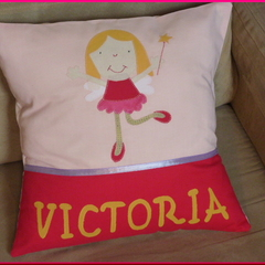PERSONALISED CUSHION COVER - Fairy