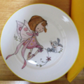 FAIRY PLATE FOR A LITTLE GIRL ON ROYAL DOULTON