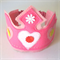 Dress up Princess Crown and Wand, girls birthday hat, Rainbow Wand