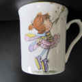 FAIRY MUG Hand painted for a little girl