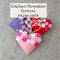 Special value pack, Blossoming love lavender felt heart, ornament, decoration