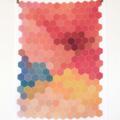HEXAGON - Screen Printed Kitchen Tea Towel