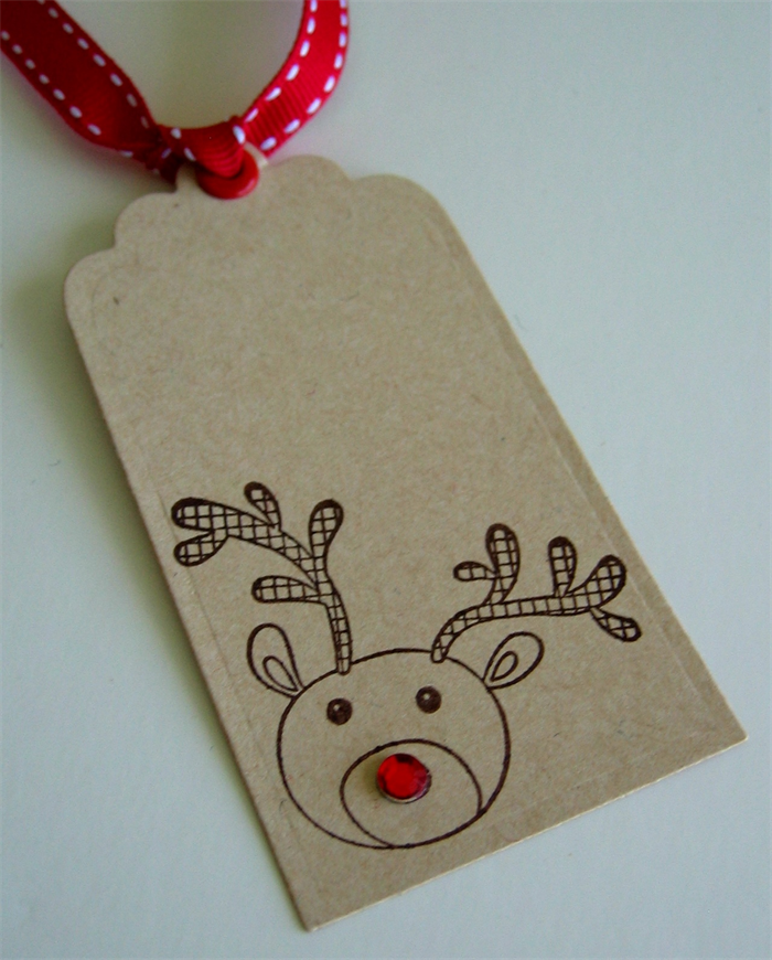 Christmas Gift Tags - Rudolph the Red Nosed Reindeer - 12 ...