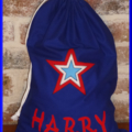 CHILDS PERSONALISED LIBRARY BAG - Star