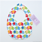 BUY 3 GET 4th FREE Elephant Bib Red Blue Green