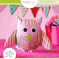 Owl Pattern. PDF Sewing Pattern for Owl Softie, Toy, Cushion, Make and Sell