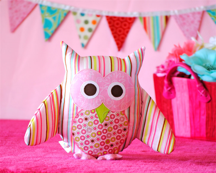 Owl Pattern. PDF Sewing Pattern for Owl Softie, Toy, Cushion, Make ...