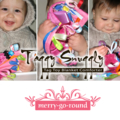Taggy Snuggly Tag Toy Mini BABY Comforter Taggie . BABY GIFT - Pink Hoot Owls