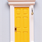 Yellow Fairy Door / Tooth Fairy Door