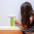 Green Fairy Door / Tooth Fairy Door