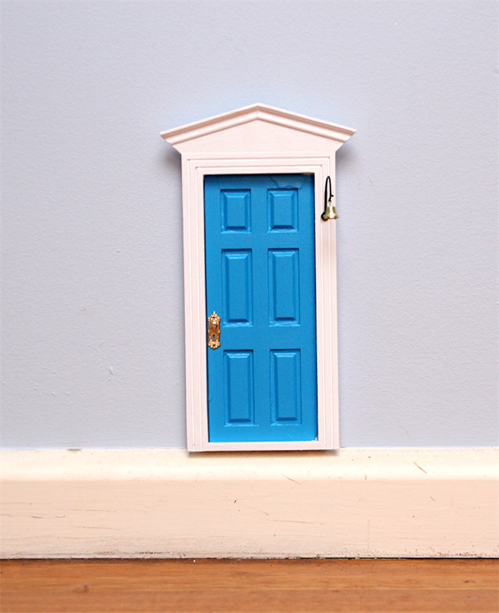Blue fairy door tooth fairy door me2 for Fairy doors au