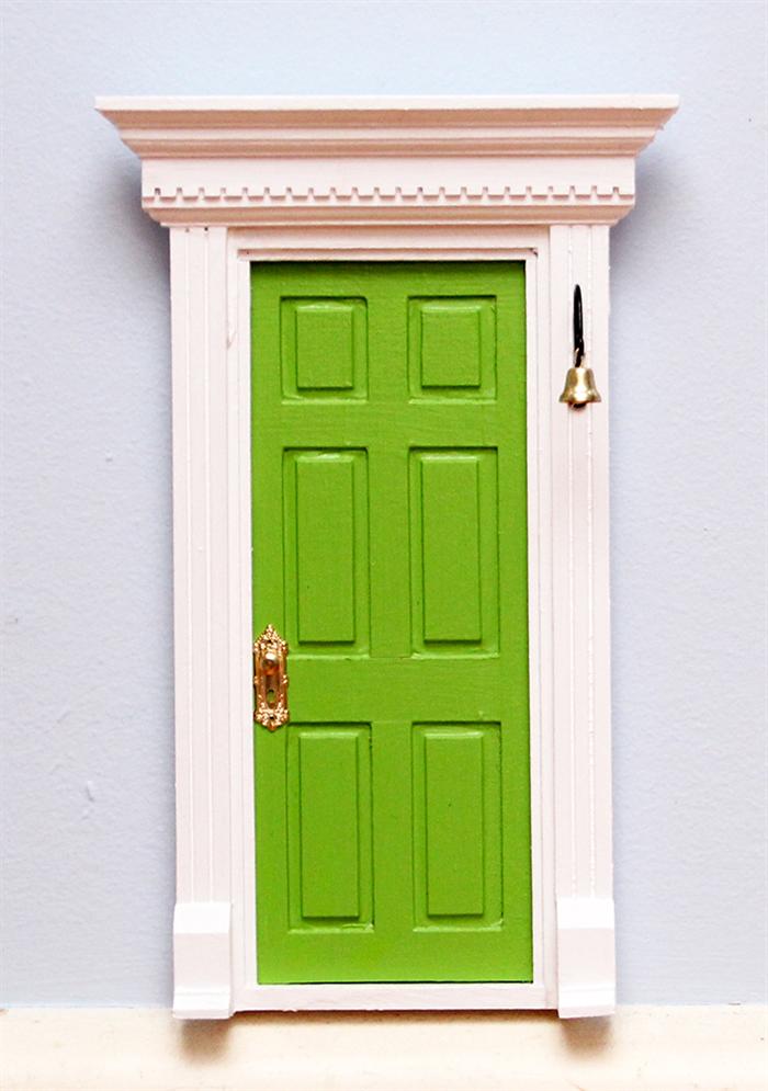 Green fairy door tooth fairy door me2 for Fairy doors for sale