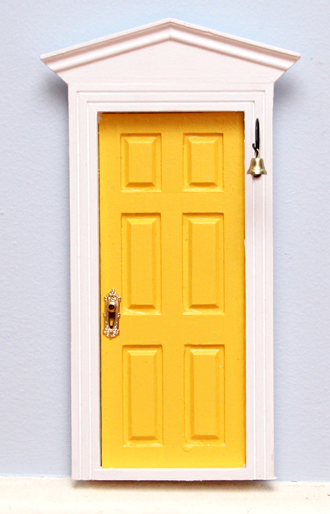 Yellow fairy door tooth fairy door me2 for Fairy doors au