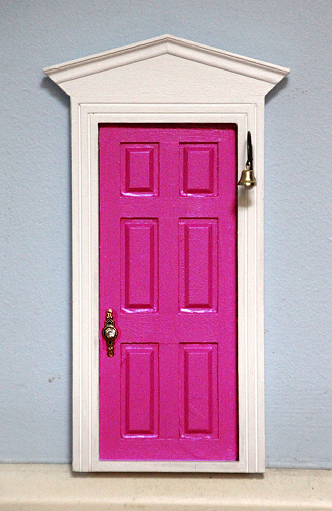 Pink fairy door tooth fairy door me2 for Pink fairy door