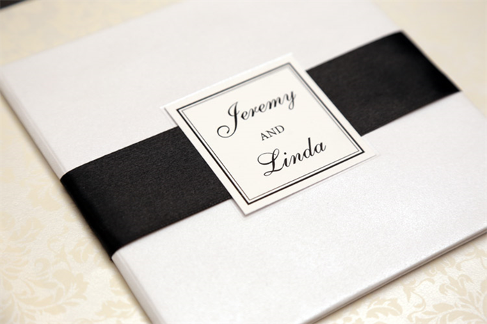 Diy Wedding Hardcover Booklet Shimmery White Paper Ate Ink