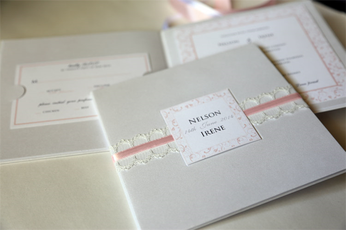Diy Wedding Hardcover Booklet Shimmery White