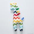 Giraffe Tag Toy Rainbow Chevron
