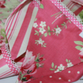 BUNTING Pennant Flags - Barefoot Roses Vintage