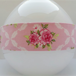 Headband | Double sided | Pink | Roses | Tilda | Shabby Chic inspired