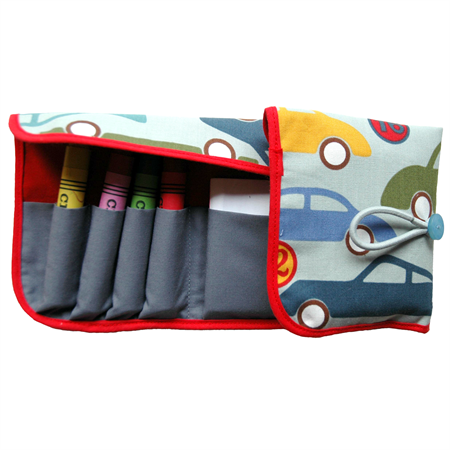 Crayon Wallet - Cars