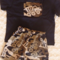 Boys size 4 army truck set, shorts and tshirt shirt top, summer, great gift