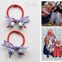 "Elastic hair tie, ""Go Dutch in Holland Style"" :)"