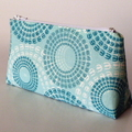 Caribbean Green Circles Purse-Free Postage, $13 for 1, $23 for any 2, $30 for 3