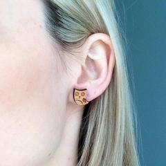 Little Owls Laser Cut Post Earrings