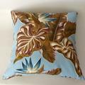 Retro Blue Hawaii Cushion - Free Postage