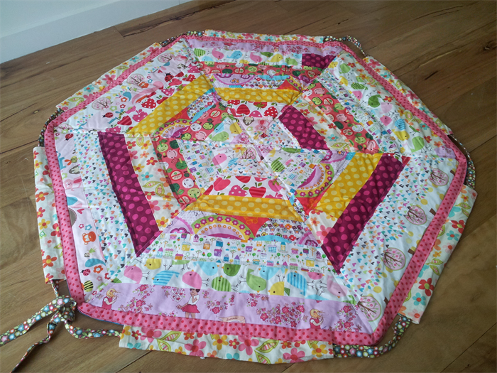 Quilted drawstring playmat, toy bag. | Bubz Bibz and Bobz | madeit ...