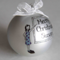 "Personalised ""TEACHER"" Christmas Ball / Baubles"
